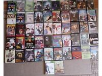 Xbox360 and DVDs job lot