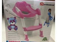 New Teddie children's toilet ladder