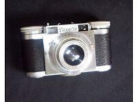 Vintage (1956) Braun Paxette 1 compact film camera.