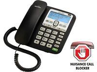 A NICE CLASSIC RARE BINATONE ACURA 3000 CORDED PHONE TELEPHONE ANSWERING MACHINE ,MINT