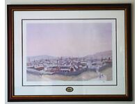 A set of four professionally framed and signed Limited Edition prints by G W Birks