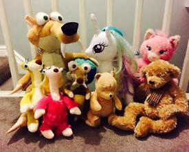 Soft toy collection