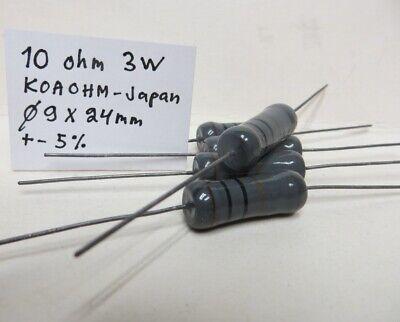 2W NOS Klangfilm Karbowid Resistors 200 Ohms 10 pcs Original 1950s Siemens