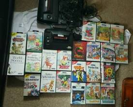 Sega master systems II Games bundle