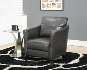Charcoal Grey Accent Chair!