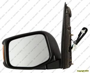 Door Mirror Power Driver Side Heated With Signal Honda Odyssey 2011-2013