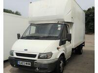 LWB Ford Luton Van / Box Van with tail lift & 12 months MOT, Diesel