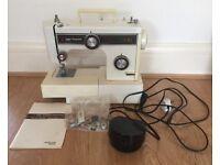 Frister Rossmann Panda Range electric Sewing Machine Instructions 1980s Needs Servicing