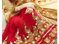 Indian Designer Sari Embroidered Work Bollywood Sari Wedding Party Wear. of -180 for Perfect Gift