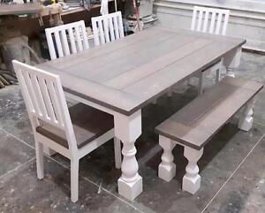 Classic Sawdust Designs Custom Dining Tables