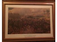 Last Lance Charge of the 9th Lancers