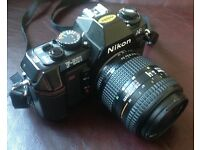 Nikon F 501 35mm Film Camera with Nikkor 28-70mm Autofocus Lens
