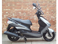 Yamaha Cygnus 125, immaculate condition ONLY 1967 miles