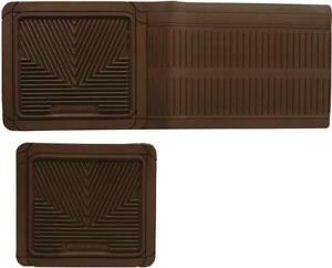 NEW Highland 4404000 All-Weather Tan Back Seat Floor Mat