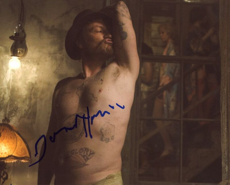 """Jared Harris """"The Curious Case of Benjamin Button"""" AUTOGRAPH Signed 8x10 Photo"""