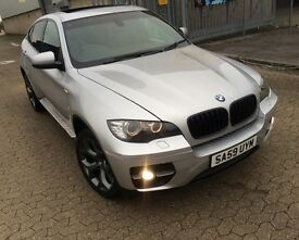 BMW X6 2009, 3 litre DIESEL, AUTOMATIC, X DRIVE, REVERSE CAMERA, SUNROOF, XENON HEADLIGHT AND MORE..