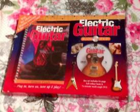 Electric Guitar Book & DVD. 2008 Hinckley Books. 64 Page Book, 74 Minute DVD.