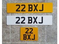 Registration Number for Sale