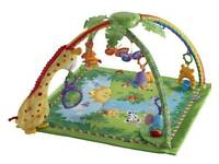 Fisherprice jungle playmat