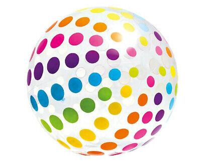 Aufblasbarer XXL Wasserball Jumbo Strandball Wasser Ball Pool Party Poolspiel ()