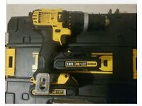 Dewalt dcd785 combi hammer action cordless 18v type 10 drill with 2 x 1.5AH batteries