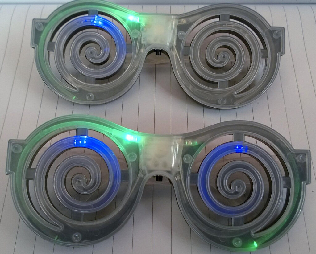 electronic light up glassesin St Helens, MerseysideGumtree - electronic light up glasses electronic light up glasses,great fun.2 pairs in perfect condition,see images