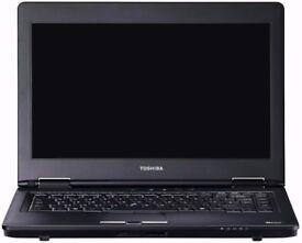 """TOSHIBHA TECRA M11-11L/14""""Laptop /i5 1st Gen/4GB RAM/250GB/WIN 7"""