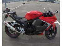 * HYOSUNG GT125R (2015) * LOW MILEAGE * LEARNER LEGAL *