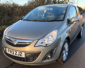 2013 Vauxhall Corsa active 1.4 Full History new shape drives like new and economical