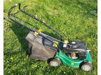 Petrol Lawn Mower - 40cm Rotary Hand Propelled