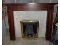 Fireplace with Leanline Mk2 gas fire