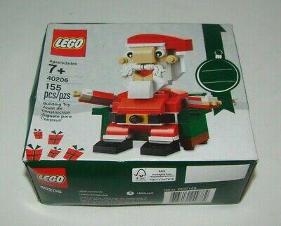 Lego 40206 Seasonal Holiday Christmas SANTA CLAUS New Sealed