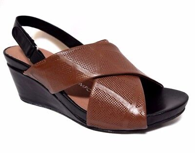 TS shoes TAKING SHAPE sz 7 / 38 Sintra Wedge wide-fit comfy sandals NWT rp$170!