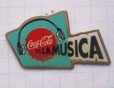 COCA-COLA / ES LA MUSICA  ................................. Pin (136i)