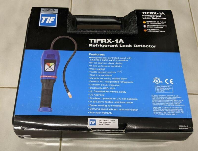 NEW TIF TIFRX-1A Refrigerant Leak Detector
