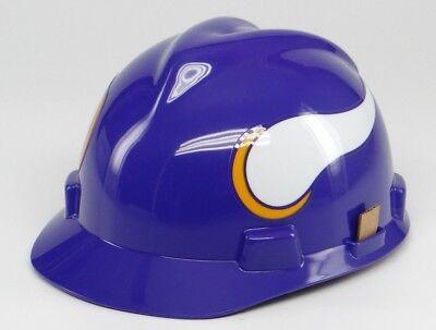 Nfl Hard Hat   Minnesota Vikings  Medium Msa Safety Works  Ansi Osha  Helmet New