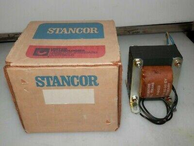 New Stancor P-6433 Transformer P6433 117 Volt Pri. 50-60 Cy 5 Volts Sec. 15 Amps