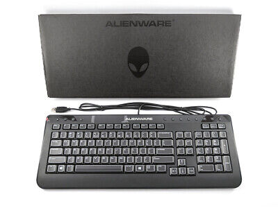Genuine DELL Alienware USB SK-8165 Keyboard QWERTY US Layout , 2M0HN , VH31T