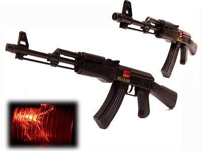 Gewehr AK-47 57 cm mit FUNKEN Sound LICHT Maschinengewehr (Spielzeug Ak47)