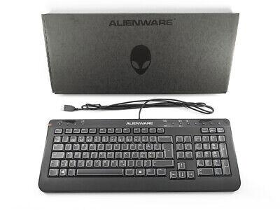 DELL Alienware USB Keyboard SK-8165 NORWEGIAN Nordic QWERTY Layout 3X3K9 , NEW