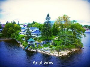 Waterfront Character Home in a Gorgeous Setting