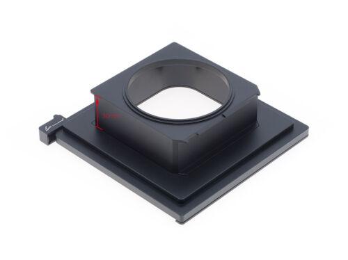 Luland Produced Linhof 99X96mm  to Sinar 140mm Lens board Sinar Shutter adapter