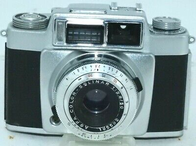 Agfa Silette mit Solinar  2,8 50mm