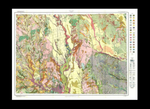 Zavalla, Texas 1934 Soil Survey Map 29 x 46 in. FREE SHIPPING.