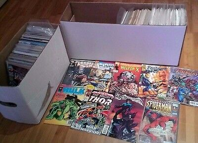 JOB LOT 10x Marvel and DC Comics Wholesale Collection - Grab Bag