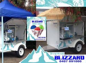 Food Trailer .. Mobile Snow Cone Trailer Business Palm Beach Gold Coast South Preview