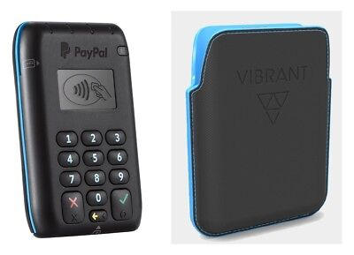 Official Paypal Here Contactless Emv Chip And Pin Card Reader  Protective Case
