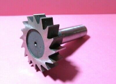 American Standard # 607 7//8 Diameter x 3//16 Wide Carbide Tipped Straight Tooth Keyseat Cutter