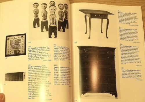 Skinner Americana & American Indian Art auction catalog January 1988 Sale Result