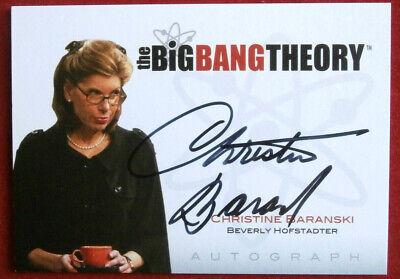 THE BIG BANG THEORY - CHRISTINE BARANSKI - Seasons 1/2 Autograph Card A12